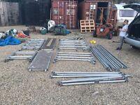 Aluminium scaffold tower x2