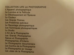 Collection Life La Photographie