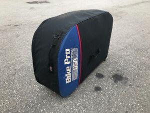 Bicycle travel bag - TRAVEL PRO holds 2 bikes! Padded/wheels