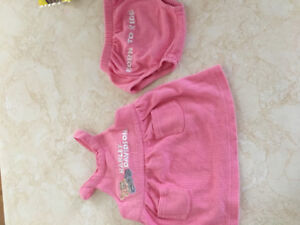 Harley Davidson baby outfit