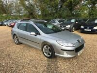 2005 Peugeot 407 SW 2.0HDi SE 12 Months MOT Service History Low Milage