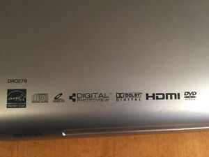 Energy Star, High Definition, HDMI, RCA DVD Player-Never Used