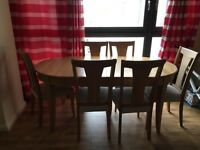 Expandable 6 seater wooden Dinning Table (John Louis Make)