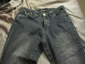 Jeans, size 9, bootcut