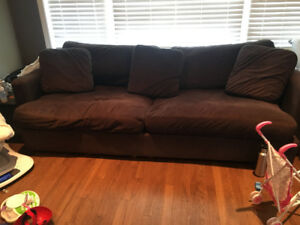 2 year old couch from the brick $300 OBO
