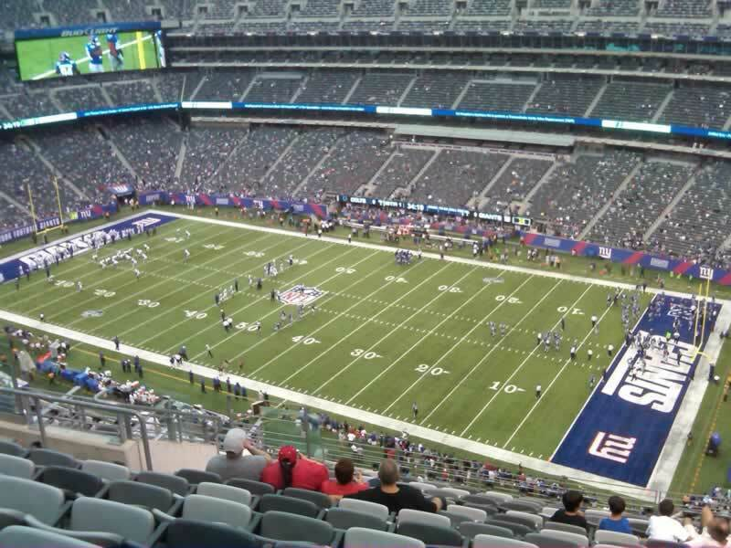 New York Giants Personal Seat License (PSL)- 2 seats- Section 334, Row 26