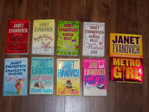 JANET EVANOVICH             **$10 for all**