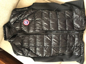 Canada Goose Mens Hybridge Lite Vest 2702m Black/graphite XL