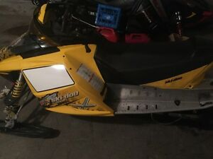 Ski doo rev triple custom