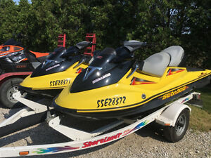 MATCHING SET, 2004 SEADOO GTX 185,SEA DOO,