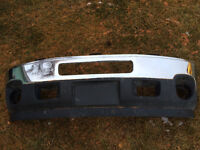 Front Bumper from 2012 GMC 3500HD with Fog Light Holes