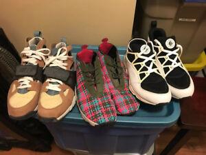 Mens Nike Shoes Size 12 Footscape / Air Trainer Huarache Burst
