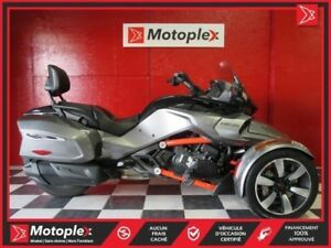 2016 Can-Am Spyder F3-T SE6 104,37$/SEMAINE