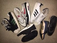 All Trainers, Nike & Adidas Size 9