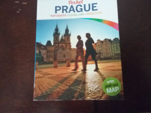 LONELY PLANET Pocket Travel book PRAGUE CZECH REPUBLIC w map