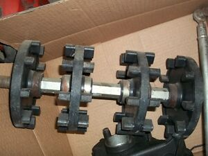 USED FRONT AXLE YAMAHA VIPER compl;ete with sprockets