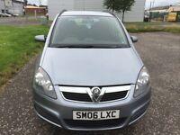 Vauxhall Zafira 7 Seater 06 1.8 £850