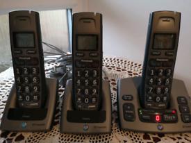 BT Freestyle 750 Big Button Phone Triple, Plus Answerpy