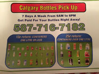 Recycling Calgary Bottles Pick UP