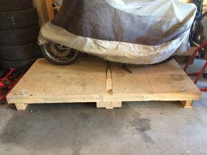 Motorcycle Shipping or Storage Platform