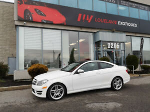 Deal fin d'année C350, Coupe,  4Matic, 2013, 41 000 Km, Pack AMG