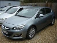 VAUXHALL ASTRA ELITE CDTI S-S 2013 Diesel Manual in Silver