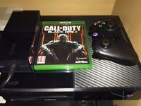 Xbox One 500GB Black Console With Black Ops 3