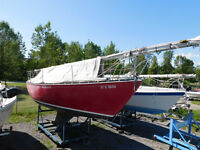 Online Sailboat Auction at Fifty Point Marina
