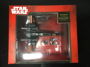 Star Wars Metal Model. Poe's X-Wing Fighter Diecast. Mint