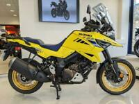 V-STROM 1050 XT - IN CHAMPION YELLOW - JUST SERVICED HERE AT CRESCENT M/C