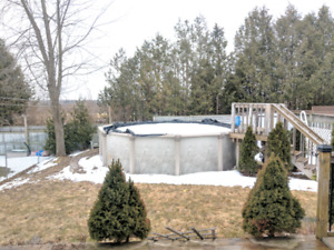 POOL, SHED, ACCESSORIES