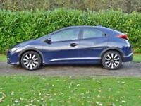 Honda Civic 1.8 I-VTEC SE Plus 5dr PETROL AUTOMATIC 2014/63