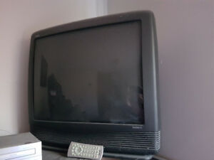 "27"" CRT TV (plus another that may need remote)"