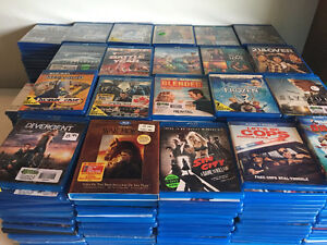 BLU-RAY MOVIE LOT SALE
