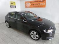 BLACK AUDI A3 2.0 TDI SPORT ***FROM £206 PER MONTH***