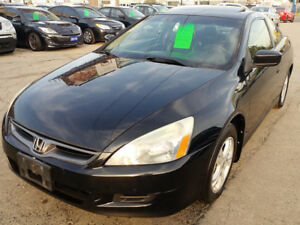 2007 Honda Accord EXL Coupe