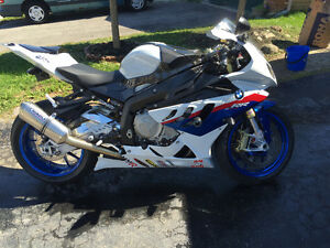 BMW S1000RR Full Hindle Evolution Exhaust Ohlins Suspension