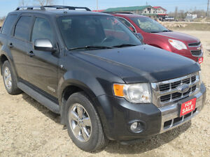 2008 Ford Escape Limited SUV - REDUCED