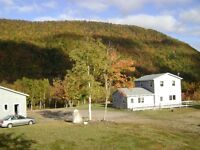Home with 225 Acres of Panaramic Mountain Views on Cabot Trail