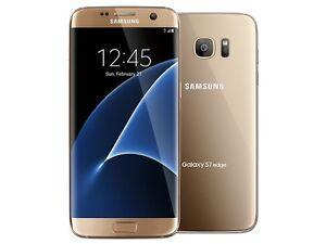 Second Hand Samsung Galaxy S7 Edge 32GB Silver Gold As New CASH Mandurah Mandurah Area Preview
