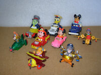 Lot, Diecast de Walt Disney, Mickey, Donald, …