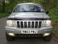 2003 (03) Jeep Grand Cherokee 4.7 V8 High Output auto Overland..HIGH SPEC!!