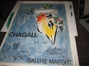Gallerie Maeght - Vintage Chagall Poster