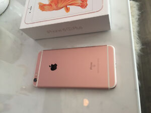 Rose Gold, IPhone 6s Plus 32gb for sale