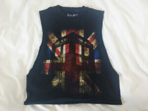 Doctor who racer tank