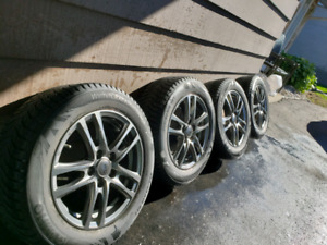"Mazda3 4 x Kumho winter tires and 4 x 16"" DAI wheels"