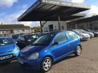 2002 Toyota Yaris 1.3 VVT-i Colour Collection 3dr