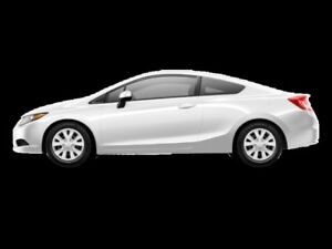 2012 Honda Civic Coupe LX  - Power Windows -  Power Locks