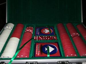 Poker set, mint condition