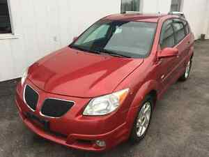 2005 Pontiac Vibe low km's...WITH SAFETY!!